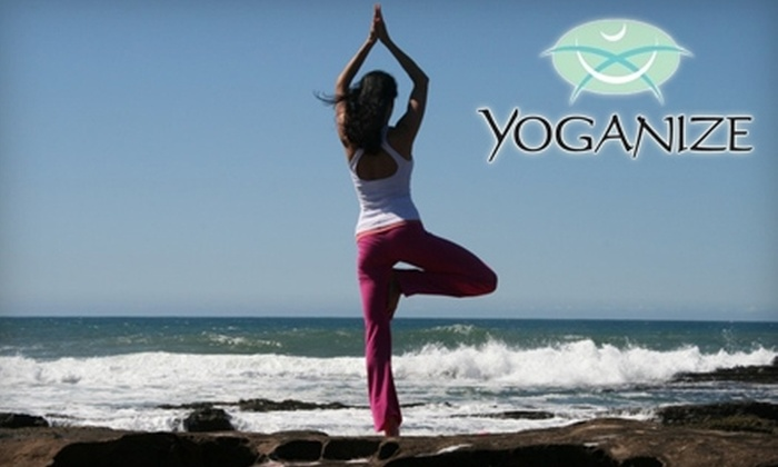 Yoganize - Greenville: $20 for 10 Classes at Yoganize