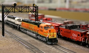 Golden State Model Railroad Museum: Individual or Family Annual Pass to Golden State Model Railroad Museum in Point Richmond (Up to 51% Off)