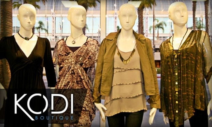 Kodi Boutique  - Pasadena: $25 for $50 Worth of Clothing, Shoes, and Accessories at Kodi Boutique