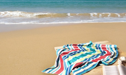 $25 for a Premium Turkish MultiCoral Velour Beach Towel