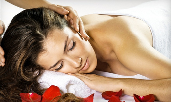 Heal N U Therapeutic Day Spa - Northwest Meridian: 60-Minute Deep-Tissue or Four-Handed Tandem Massage at Heal N U Therapeutic Day Spa (Up to 58% Off)