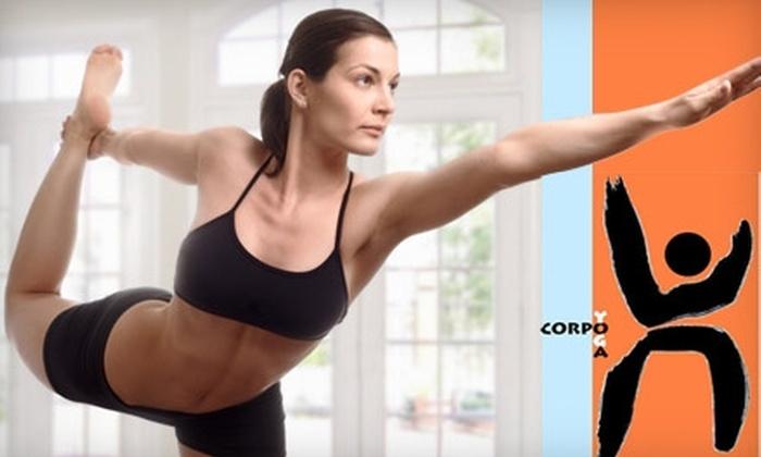Corpo Yoga Studio - Kendall: $10 for Three Classes at Corpo Yoga Studio ($36 Value)
