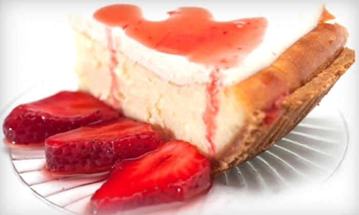 Peteet's Famous Cheesecakes - Oak Park: $8 for $16 Worth of Cheesecake and More at Peteet's Famous Cheesecakes in Oak Park