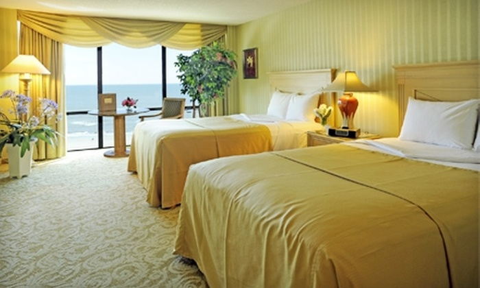 Trump Plaza Hotel and Casino - Atlantic City: $149 for a Stay at Trump Plaza Hotel and Casino in Atlantic City (Up to $395 Value). Two Options Available.