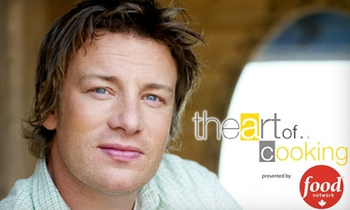 "The Art of Productions - Downtown Toronto: $44 for One General-Admission Ticket to ""The Art of Cooking"", an Evening With Jamie Oliver, on November 18 at the Metro Toronto Convention Centre ($100.57 Value)"