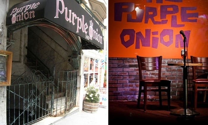 LIVE at the Purple Onion - Financial District: $12 Stand-Up Tickets at The Purple Onion