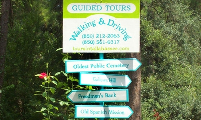Guided Tours in Florida's Capital and the Forgotten Coast - Tallahassee: $15 for Two Tickets to a Historic Sunset Walking Tour from Guided Tours in Florida's Capital and the Forgotten Coast ($30 Value)
