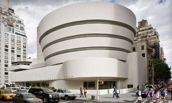 Solomon R. Guggenheim Museum - Upper East Side: Admission to the Solomon R. Guggenheim Museum. Two Options Available.