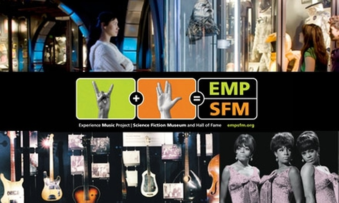 EMP|SFM - Lower Queen Anne: Membership to Experience Music Project|Science Fiction Museum. Three Membership Levels Available.