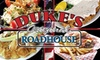 Duke's Original Roadhouse - Addison: $10 for $25 Worth of American Fare at Duke's Original Roadhouse