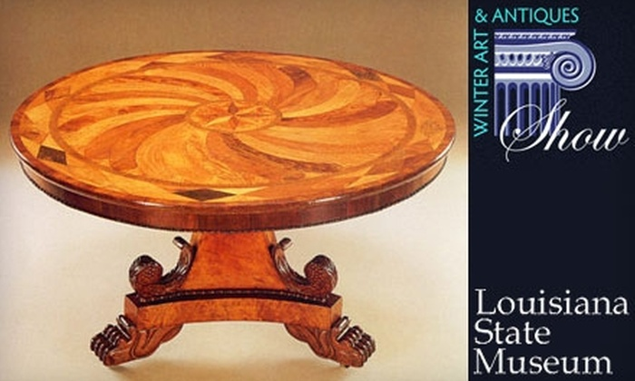 Louisiana State Museum - French Quarter: $15 for Two Tickets to the Louisiana State Museum's Winter Art & Antiques Show. Choose from Two Dates.