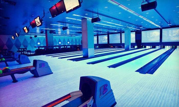 Sky Deck Sports Grille & Lanes - Bloomington: $15 for Bowling and Arcade Package at Sky Deck Sports Grille & Lanes (Up to $31 Value)