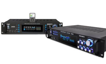 Pyle 1,000 or 3,000 Watt Hybrid Home Stereo Receiver Amplifier for $149.99 or $179.99