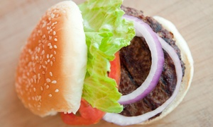 Beit Burger: Kosher Burgers, Mediterranean Cuisine, and Drinks at Beit Burger (Up to 43% Off). Two Options Available.