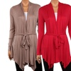 Women's Plus Size Draped Cardigan