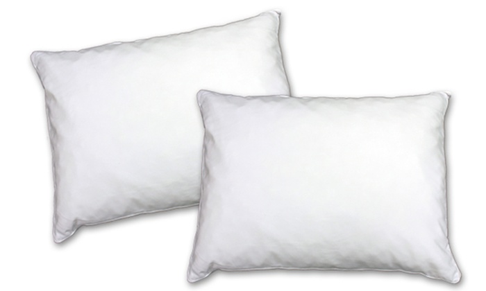 memory foam pillows mattress firm inc nat groupon. Black Bedroom Furniture Sets. Home Design Ideas