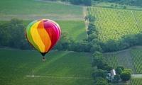 Ballonvlucht van 1u met glaasje Cava voor 1, 2, 4 of 6 personen bij Aalst Ballooning Company