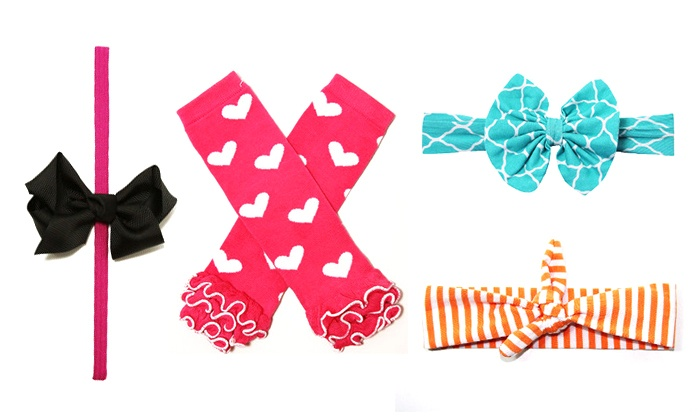 My Posh Princess: $15 for $45 Worth of Bows, Headbands, Tutus, and Other Girls' Accessories from My Posh Princess