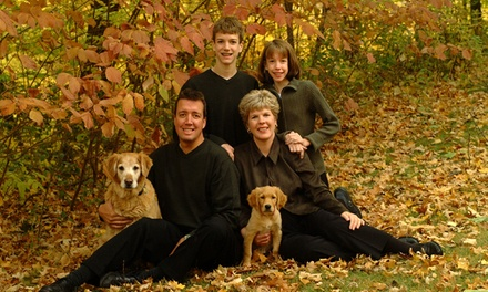 $65 for a Photo-Shoot Package for Up to 15 with Prints from Steve Rouch Photography ($600 Value)