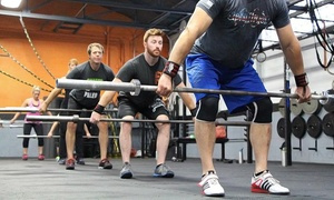 XLR8 Athletix: Six Personalized CrossFit Sessions or One Month of HIIT Classes from XLR8 Athletix (Up to 73% Off)