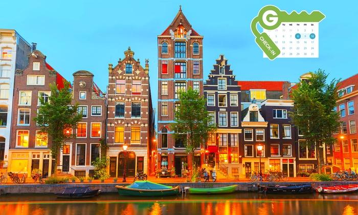 4 Aufenthalt Im Herzen Von Amsterdam Groupon