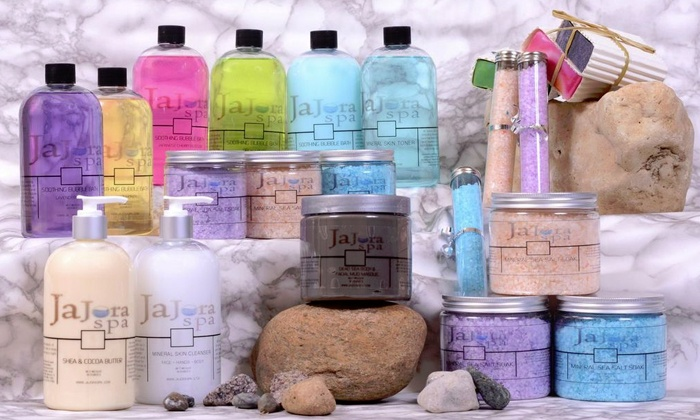 JaJora Spa - Bellevue: Dead Sea Mud Mask and Face Cream or Two Artisan Soaps and Two Bath Salts from JaJora Spa (Up to 53% Off)
