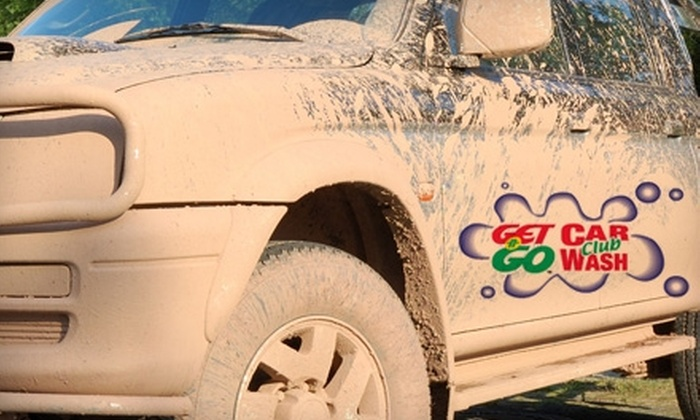 Get N Go Car Wash - Multiple Locations: $12 for Three Deluxe Car Wash Packages ($24 Value) or $18 for Four Ultra Car Wash Packages ($36 Value) at Get N Go Car Wash