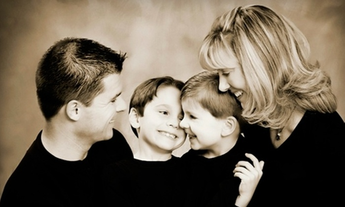 LifeArt Imaging - Philadephia: $89 for a Portrait Session for Up to Four People and a Photo Package from LifeArt Imaging ($290 Value)