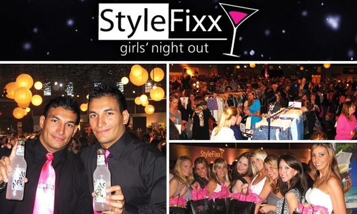 Style Fixx - South End: $15 Admission to StyleFixx Girls' Night Out for September 16. See Below to Buy for September 15.