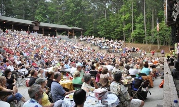 Frederick Brown Jr. Amphitheater - Peachtree City: One Reserved-Seating Ticket for a Concert at the Frederick Brown Jr. Amphitheater in Peachtree City. Three Options Available.