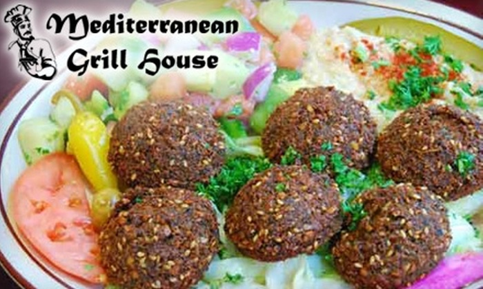 Mediterranean Grill House - Old Mountain View: $7 for $15 Worth of Mediterranean Cuisine and Drinks at Mediterranean Grill House in Mountain View