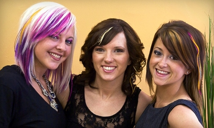 Lyndsay L. Salon - St. Louis: $65 for a Mini Makeover at Lyndsay L. Salon (Up to $147 Value)