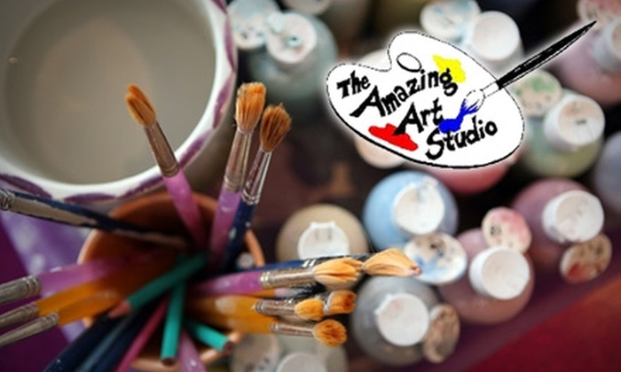 Amazing Art Studio - Gaithersburg: $15 for $30 Worth of Do-It-Yourself Projects at Amazing Art Studio
