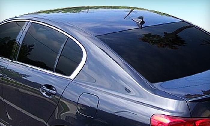 Signature Glass Tinting - Costa Mesa: $50 for $110 Toward Automotive Window Tinting at Signature Glass Tinting in Costa Mesa