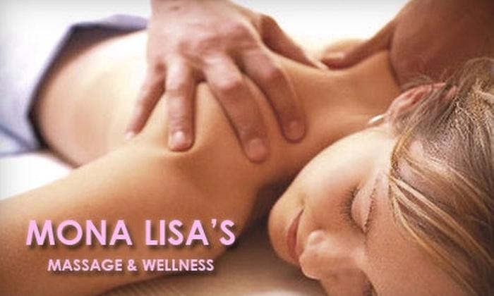 Mona Lisa's Massage & Wellness - Nashville-Davidson metropolitan government (balance): $30 for a One-Hour Massage at Mona Lisa's Massage & Wellness (Up to $65 Value)