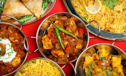 $15 Groupon to Taste of India - Taste of India in Norman
