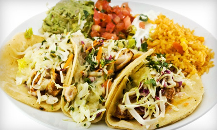 Memo's Mexican Cuisine - Todos Santos,North Concord: $10 for $20 Worth of Mexican Fare at Memo's Mexican Cuisine in Concord