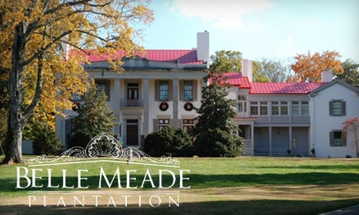 Belle Meade Plantation - Belle Meade: $16 for a Tour and Wine Tasting for Two at Belle Meade Plantation