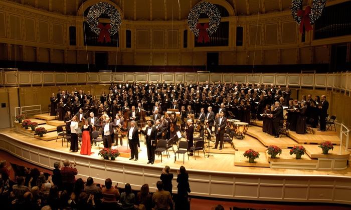 "Apollo Chorus of Chicago: Handel's Messiah - Harris Theater for Music and Dance: Apollo Chorus of Chicago: Handel's ""Messiah"" on Saturday, December 19, at 7 p.m. or Sunday, December 20, at 2 p.m."