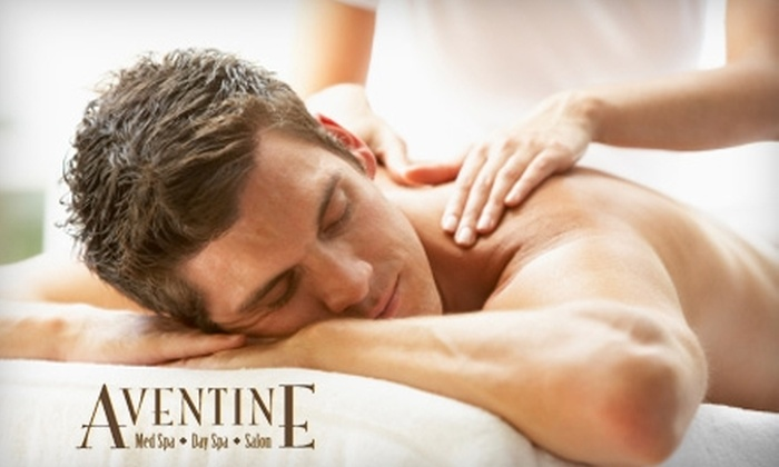 Aventine Spa - Livermore: Massage or DermaSweep Facial Plus Three-Month Membership at Aventine Spa in Livermore. Choose Between Two Options.