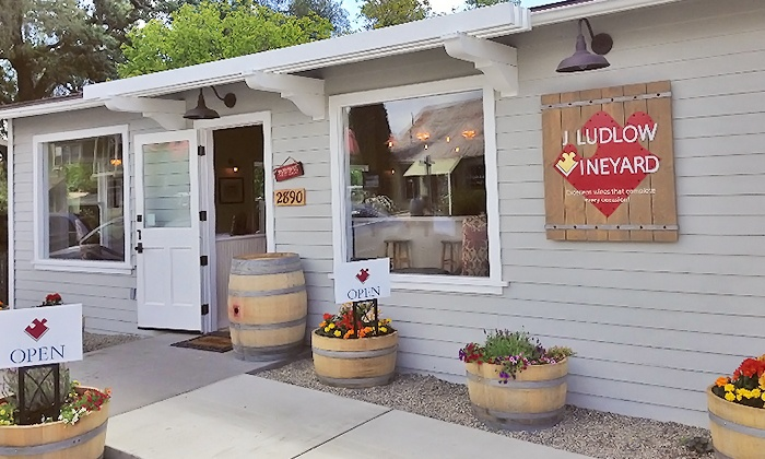 J Ludlow Vineyard - Los Olivos: Wine Tasting for Two or Four at J Ludlow Vineyard (Up to 51% Off)