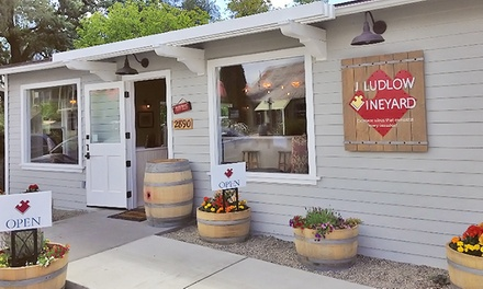 Wine Tasting for Two or Four at J Ludlow Vineyard (Up to 51% Off)