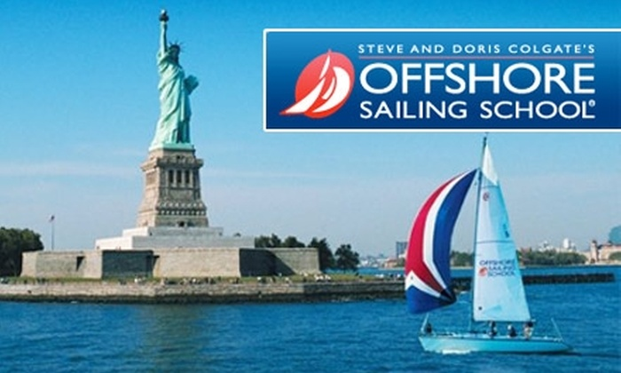 Offshore Sailing School - Multiple Locations: $75 for a Two-Hour Group Sailing Lesson at Offshore Sailing School ($150 Value)