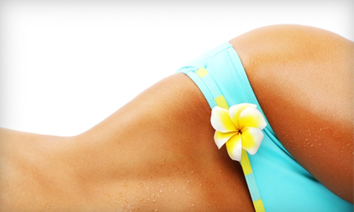 Vie de Bella Salon - Syracuse: One or Three Organic Airbrush Tans at Vie de Bella Salon