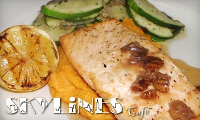 Skylines Café - Clayton: $20 for $40 Worth of Dinner Fare at Skylines Café in Clayton (or $10 for $20 Worth of Lunch)