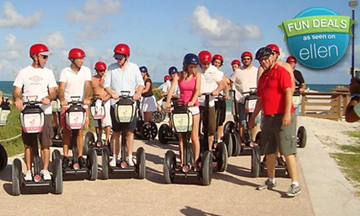 Segway Experience At South Beach
