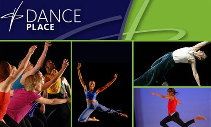 Dance Place - Brookland: $35 for Five Drop-In Dance Classes at Dance Place