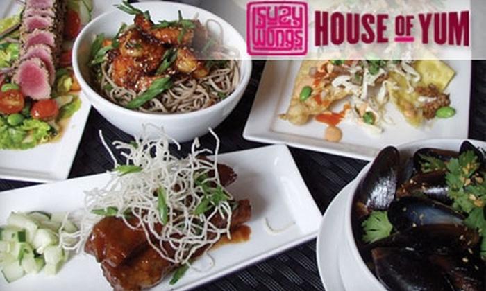 Suzy Wong's House of Yum - Nashville-Davidson metropolitan government (balance): $10 for $20 Worth of Asian Fare and Drinks at Suzy Wong's House of Yum