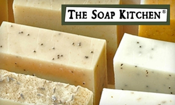 The Soap Kitchen - Old Pasadena: $15 for $30 Worth of All Natural Handmade Olive Oil Soaps at The Soap Kitchen
