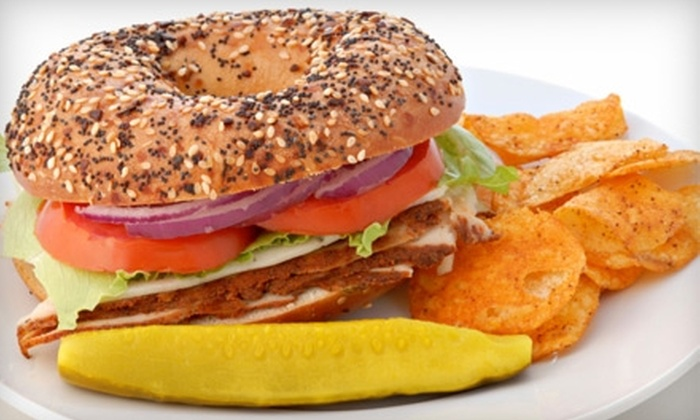 Long Island Bagel Cafe - Multiple Locations: $5 for $10 Worth of Deli Fare and Drinks at Long Island Bagel Cafe